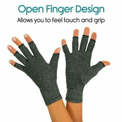 US Anti-Arthritis Compression Gloves Hand Support Carpal Tunnel-Computer Typing • 7.63$