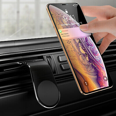 $2.39 • Buy Phone Holder Clip Car Air Vent Magnetic Bracket For Mobile Phone GPS Accessories