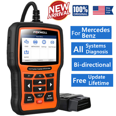 $129 • Buy For Benz Mercedes All System Auto Diagnostic Scanner ABS SRS EPB OIL Code Reader