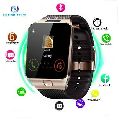 AU47.43 • Buy Smart Watch Dz09 Smart Support Tf Sim Camera Men Women Sport Bluetooth Wristwatc