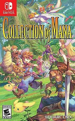 AU56 • Buy Collection Of Mana Nintendo Switch Brand New