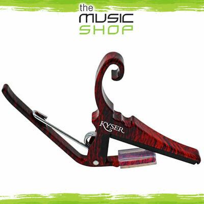 $ CDN43.01 • Buy New Kyser KGCRWA Quick Change Classical Guitar Capo (Flat) - Rosewood