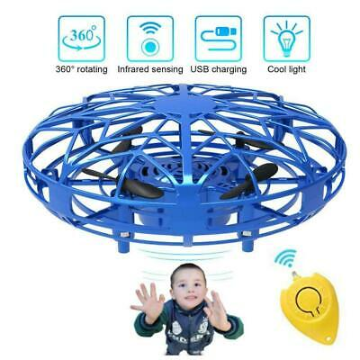 AU15.35 • Buy Mini UFO Mini Drones 360° Rotating Smart Drone For Kids Flying Gift Toys V2M4