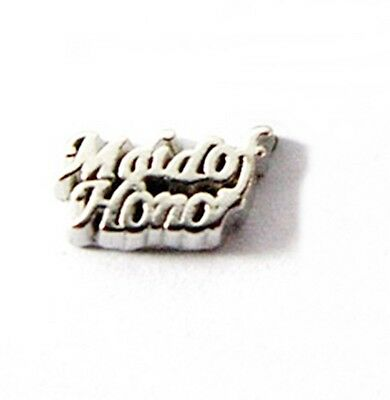$1.80 • Buy MAID OF HONOR Wedding Silver 10mm Floating Charm For Memory Locket 1 Piece