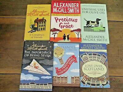 AU39.95 • Buy ~ALEXANDER McCALL SMITH X 6 BOOKS - A CONSPIRACY OF FRIENDS + 5 - ALL VGC~