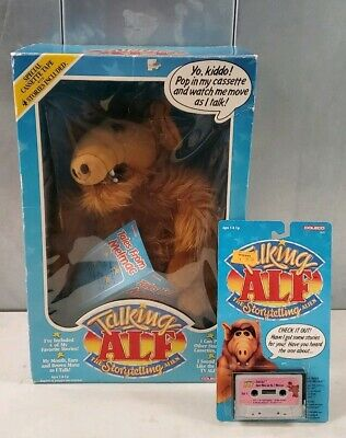 Vtg 1987 Coleco Talking Alf Doll The Storytelling Alien Toy New In Box & Tapes  • 399.99$