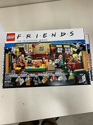Lego Friends Central Perk Cafe Ideas Set 21319 Factory Sealed IN HAND • 37$