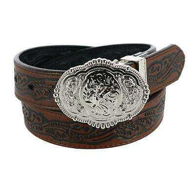$30.44 • Buy New Rogers-Whitley Kids Reversible Floral Tooled Western Belt