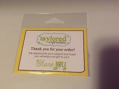 Taylored Expressions Thanks Die New Never Used • 1.99$