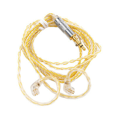 AU20.15 • Buy Braided New Upgrade Audio Cable For KZ-ZSN/ZSNpro / ZS10pro Headphones 1.2meter