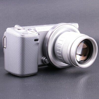 AU78.28 • Buy Fujian 50mm F1.4 CCTV Movie Lens+Adapter(C-NEX)+2rings For Sony A6300 A6000