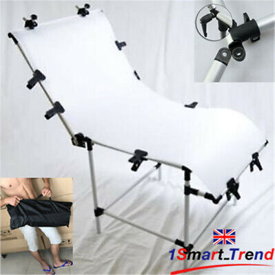 PRO.Studio 60x130cm Still Life Product Photo Shooting Table Support Display SET • 59.99£