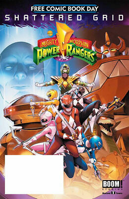 £3.50 • Buy Mighty Morphin Power Rangers Shattered Grid - Free Comic Book Day 2018 - Fcbd