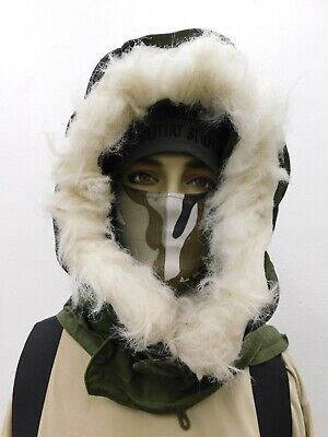$28 • Buy OG-107 Extreme Cold Weather Hood W/ Synthetic Fur M-51 Fishtail M-65 Parka B7