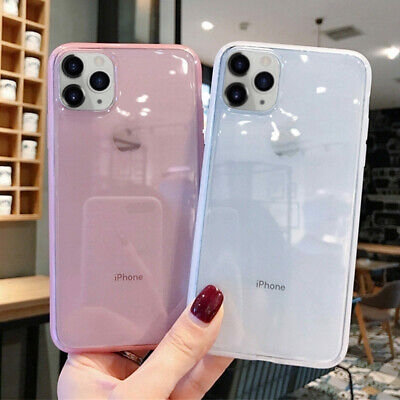 Crystal Clear Case For IPhone XR 11 Pro Max X XS 6 6s 8 7 Plus Shockproof Cover • 3.84£