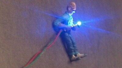 $39 • Buy Lighted O Scale Welder. Blue//White 0402 LEDs.w/simulator Animation
