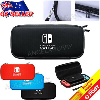 AU14.95 • Buy Nintendo Switch Shell Carrying Case Protective Cover Storage Bag +Tempered Glass
