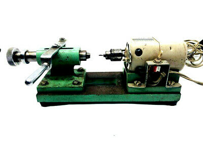 $ CDN415.26 • Buy VINTAGE TOOL WATCHMAKERS & JEWELLERS BENCH LATHE Drill  W/ COLLET Closer Slide