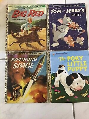 £7.10 • Buy A Little Golden Books Lot Of 4 Vintage