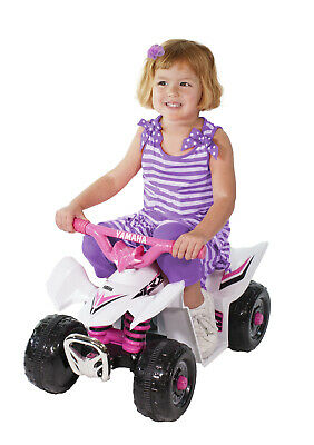 AU135 • Buy Yamaha Electric Ride-On Mini Quad Bike 6 Volt Pink Girls ATV Style