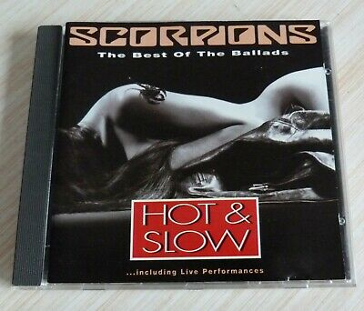 £5.99 • Buy Cd Album The Best Of Of The Ballads Scorpions Hot & Slow 12 Titres 1991