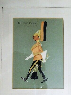 The Last Joined! 3rd Dragoon Guards  Framed & Matted Print - Militaria • 29.99£