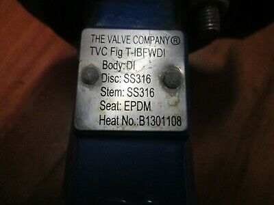 AU170 • Buy VALVE COMPANY DN100mm 4  Inch Wafer Butterfly Valve Manual Lever