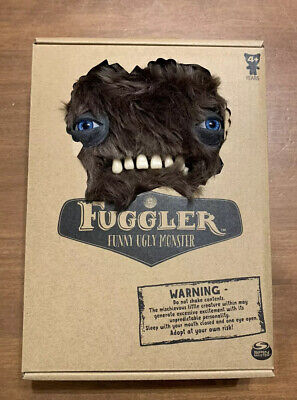 $ CDN44.38 • Buy 2019 Fuggler Funny Ugly Monster MUNCH MUNCH Fuzzy Brown Plush Spin Master Rare
