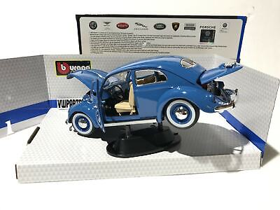 £44.99 • Buy Volkswagen Kafer Beetle 1955 1:18 Scale Model Owners Collectors Fathers Dad Gift