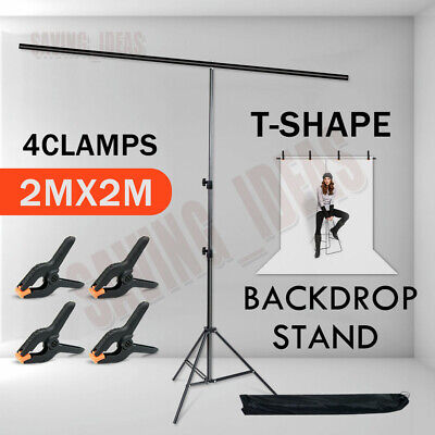 5Pcs Photography Studio Clamps Photo Backdrop Background Support Stand Clips Kit • 8.98£
