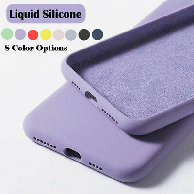 $ CDN3.58 • Buy For Samsung Galaxy S21 S20 FE 5G S10 S9 Note 20 Ultra Liquid Silicone Case Cover