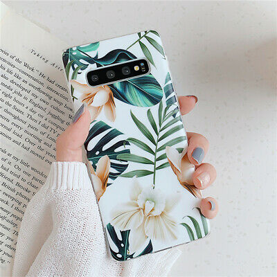 $ CDN4.68 • Buy For Samsung Galaxy S10e S9 S8 Plus Art Painting Flowers Case Silicone TPU Cover