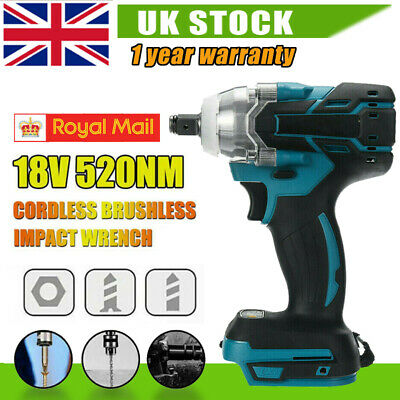 Torque Impact Wrench Brushless Cordless Replacement Fit Makita Battery DTW285Z Q • 37.49£