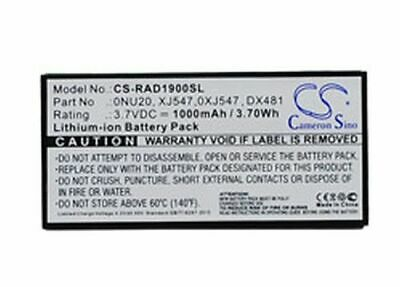 $ CDN100.62 • Buy Replacement Battery For Dell 0nu209 3.70v
