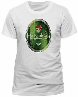 Breaking Bad Heisenberg Heineken T-shirt Walter Official Product • 8.99£