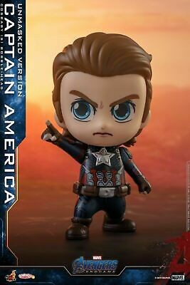 $ CDN35.16 • Buy  Hot Toys Avengers Endgame Captain America COSB555 Cosbaby HT Soldier Figure Toy