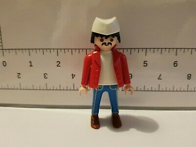 Playmobil Pizza Man, Shop Figure, Food Worker • 2.50£