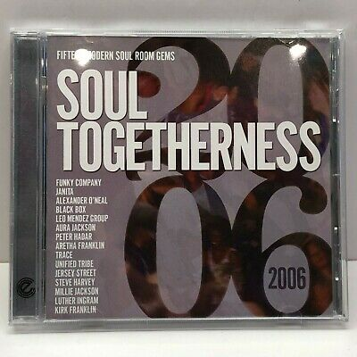 Soul Togetherness 2006 - 15 Modern Soul Room Gems | Expansion EXP 25 | 2006 | CD • 17.99£