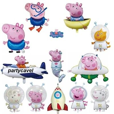 Peppa & George Pig Foil Air/Helium Balloon For Party Decorations • 3.79£