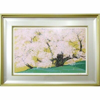 $ CDN7291.07 • Buy Chinami Nakajima Flower Cherryblossom Silk Screen Lithograph Framed Signed 2004
