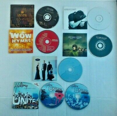 $ CDN12.45 • Buy Christian Lot Of 6 Music CDs Hymns Modern Classical Religious NO JEWEL CASES