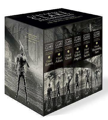 NEW Shadowhunters Mortal Instruments 6 Books Collection Cassandra Clare Gift Set • 40.47£