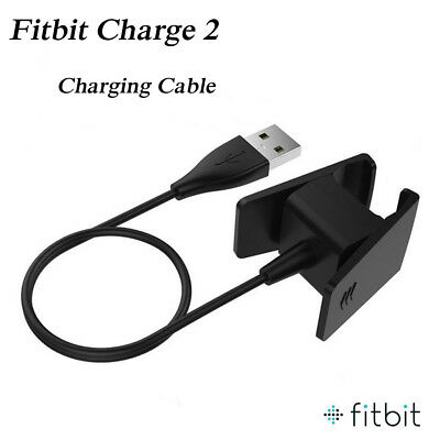 $ CDN3.53 • Buy 1X 20inch 50cm Long  Replacement USB For FitBit Charge 2 Black Cable Charger