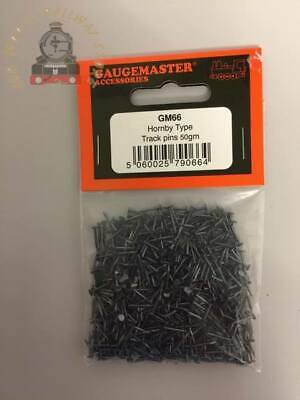 Gaugemaster GM66  Hornby Type Track Pins 10mm Contents: Over 500 Pins • 4.89£