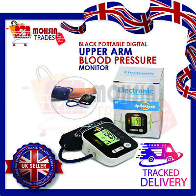 Automatic Upper Arm Blood Pressure Monitor BP Cuff Meter Machine Voice Talking • 15.99£