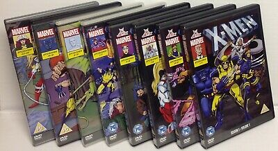 X-Men Animated Series Seasons 1-3 Boxsets DVD Complete Collection Seasons 1,2,3  • 54.99£