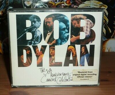 £9.99 • Buy BOB DYLAN 30th Anniversary Concert Celebration 2CD In Thick Case (1993)