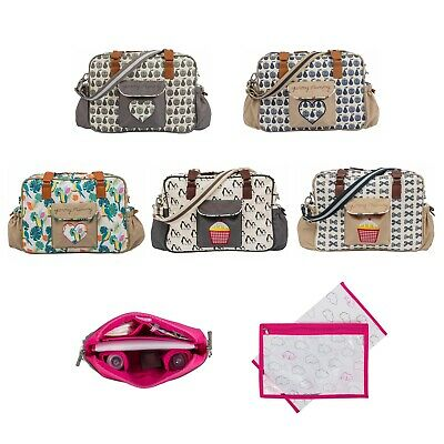 Pink Lining Yummy Mummy Baby Changing Bag With Changing Mat • 37.99£