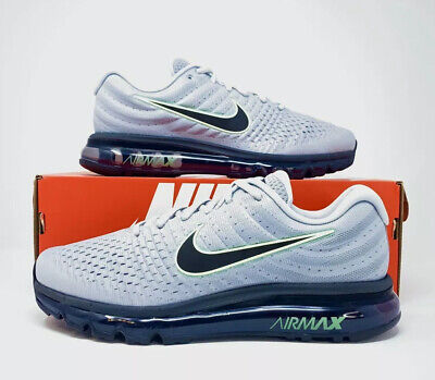 $119.90 • Buy Nike Air Max 2017 'Wolf Grey Black Volt' Men's Running Shoe 849559-012