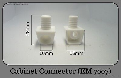 Cabinet Connector, Flat Pack Furniture Fittings 7007  • 1.25£